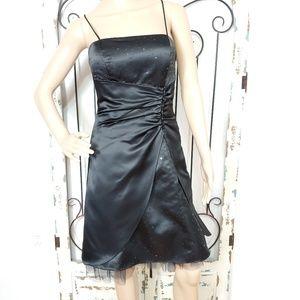 Blondie Nites black cocktail dress size 3
